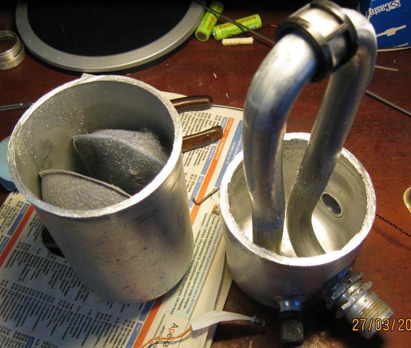 Как сделать пламегаситель вместо катализатора своими руками 596